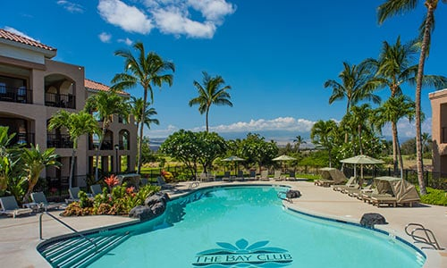 The Bay Club at Waikoloa Beach Resort in Waikoloa, Hawaii